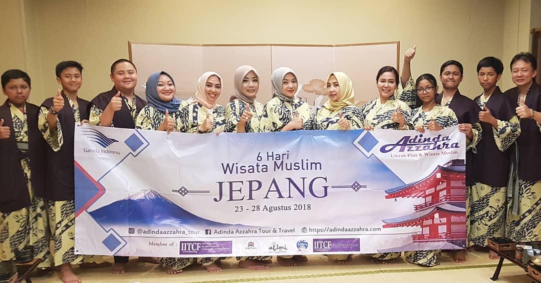 Paket Tour Wisata Muslim Jepang
