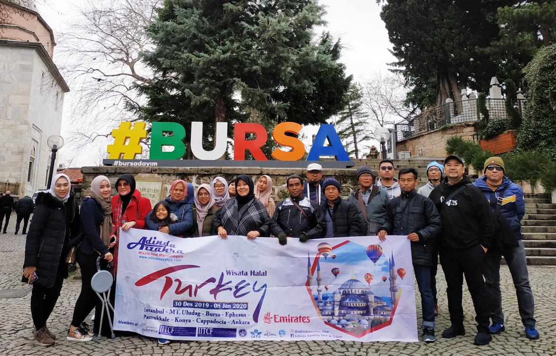 Peserta Tour Halal Turki